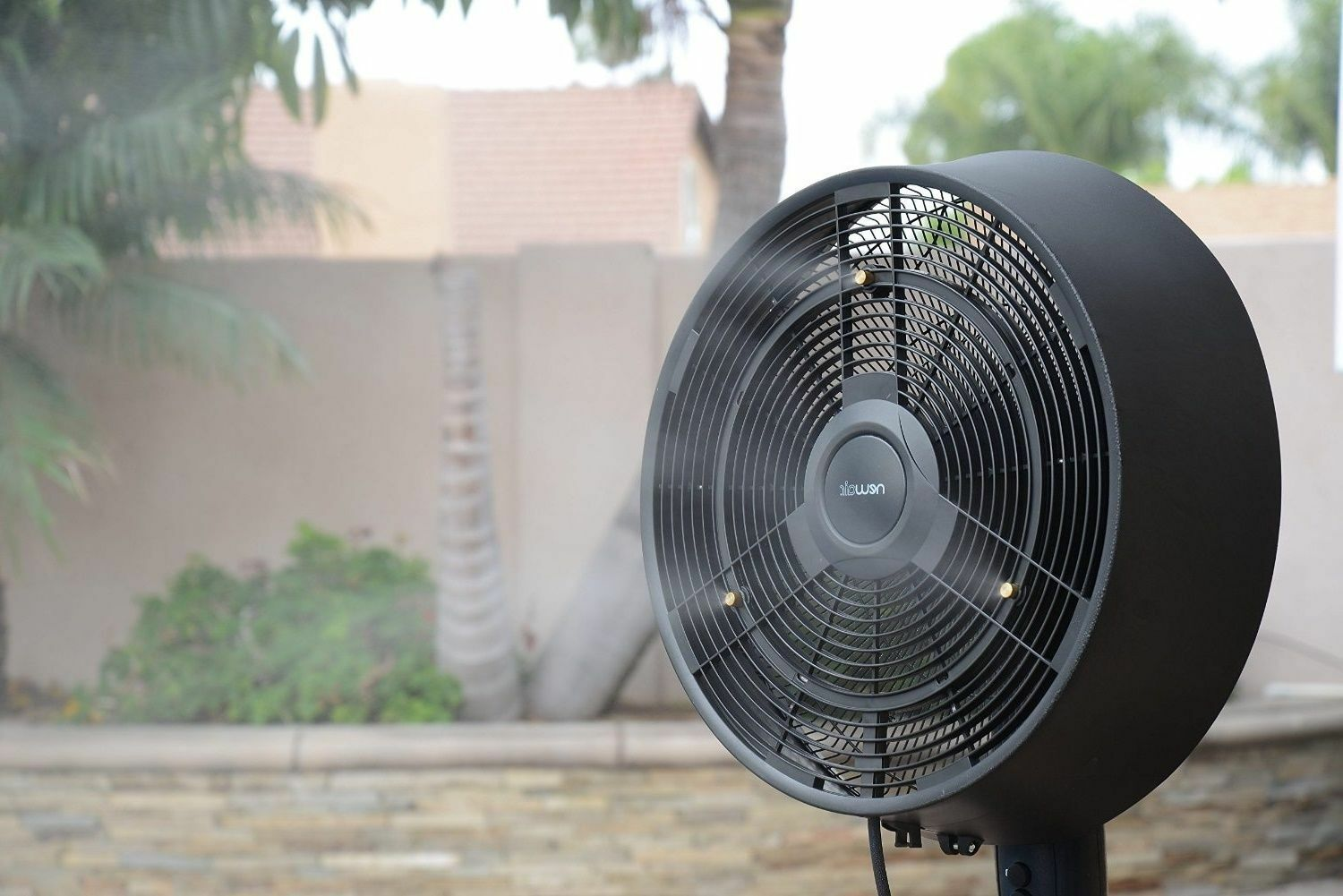 Outdoor Stand Fan Palm : Outdoor standing fans patio images free