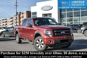 2013 Ford F-150 FX4 SUPERCREW 5.5' BED 4WD - BLUETOOTH - MAX TRA