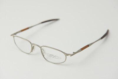 New Oakley OO A Wire JORDAN Platinum/Brown 48-20 Eye Glasses Frames (Jordan Glasses Frames)