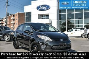 2013 Ford Fiesta SE HATCHBACK - HEATED FRONT SEATS