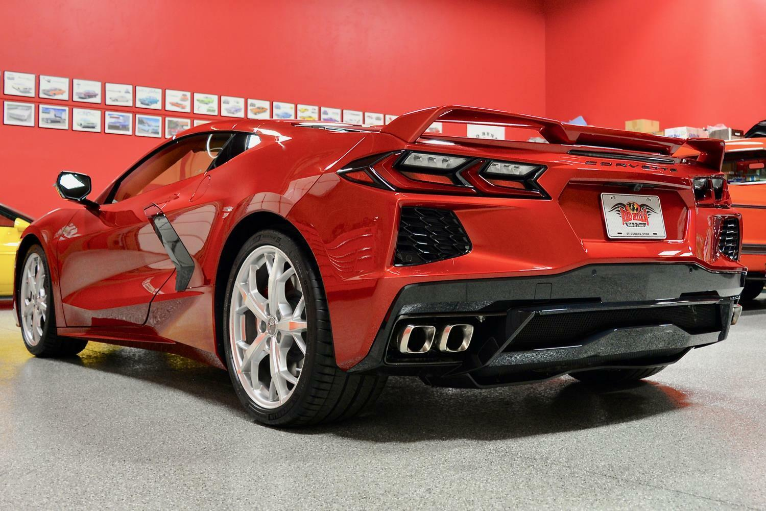 2021 Red Chevrolet Corvette  3LT | C7 Corvette Photo 10