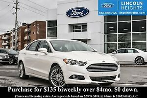 2014 Ford Fusion SE AWD - LEATHER - BLUETOOTH - HEATED FRONT SEA
