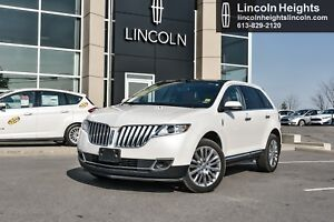 2013 Lincoln MKX AWD - LEATHER - BLUETOOTH - NAV - PANORAMIC ROO