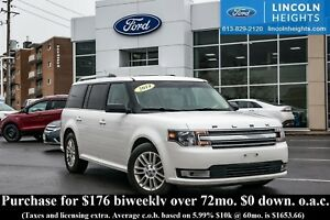 2014 Ford Flex SEL AWD - LEATHER - BLUETOOTH - PANORAMIC ROOF