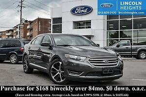 2015 Ford Taurus SEL AWD - LEATHER - BLUETOOTH - NAV - POWER MOO