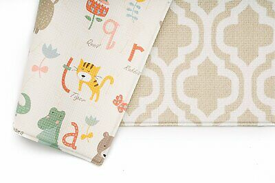 Baby Care Play Mat - Haute Collection (Medium, Moroccan - Beige)