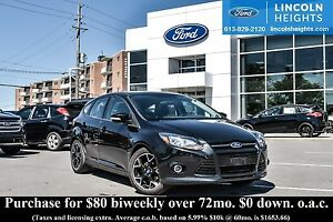 2014 Ford Focus SE HATCH - LEATHER - BLUETOOTH - POWER MOONROOF