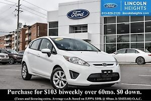 2013 Ford Fiesta SE HATCHBACK - BLUETOOTH - HEATED FRONT SEATS -