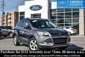2014 Ford Escape SE - BLUETOOTH - REAR PARKING AID SENSORS