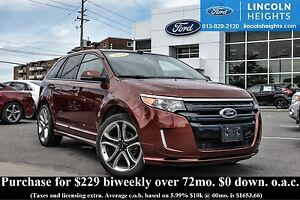 2014 Ford Edge SPORT AWD - BLUETOOTH - LEATHER - BLIND SPOT MONI