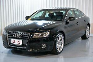 2011 Audi A5 8T MY11 Sportback Multitronic Black 8 Speed Constant Variable Hatchback