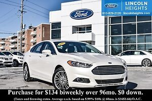 2015 Ford Fusion SE ECOBOOST - LEATHER - BLUETOOTH - REVERSE CAM