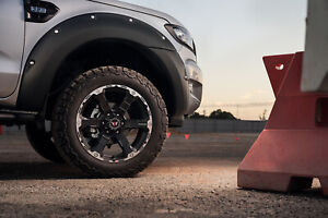 Fender Flares - Bolt Style - Full Set for FORD Ranger PX 4dr Ute Dual Cab 06/12 to 08/19 Welshpool Canning Area Preview