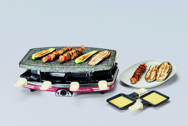 Raclette Ariete 794 piastra elettrica fonduta formaggio griglia verdure - Rotex