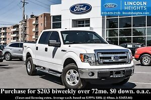 2014 Ford F-150 XLT SUPERCREW 5.5' BED 4WD - BLUETOOTH - TRAILER