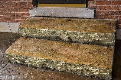 """Chiseled Slate Step Liner - 8"""""""