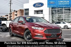 2015 Ford Fusion S - BLUETOOTH - REVERSE CAMERA SYSTEM