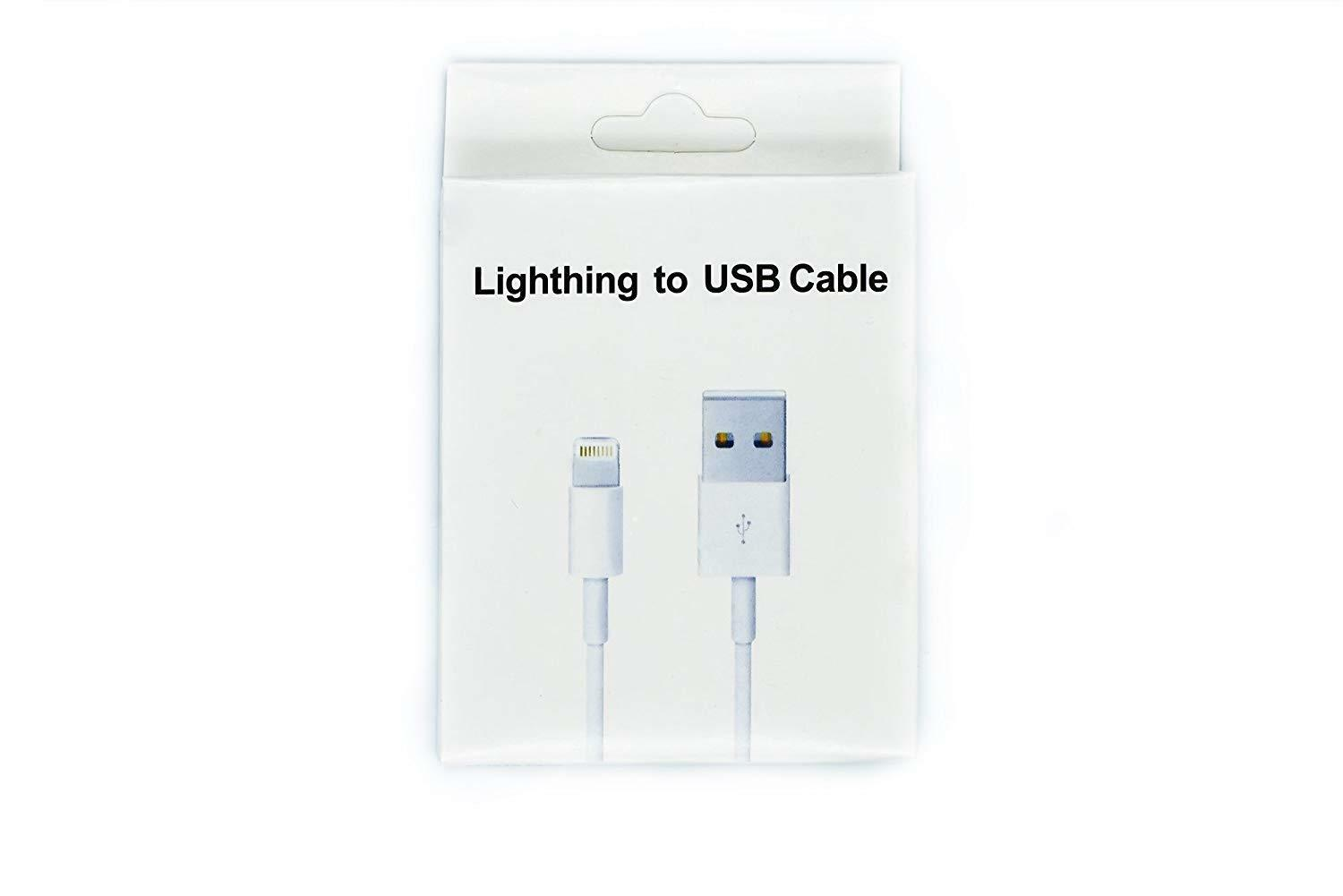 69ab93fcf14 MARCA nuevo iPhone de Apple genuino X / 8 Plus, 8/7-6 S y 5S C relámpago  Sync cargador Cable de datos USB cable 1MT iPhone 7 Plus/7/6 Plus/6/5s/c  5/5/iPad ...
