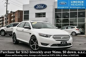2014 Ford Taurus LIMITED AWD - LEATHER - BLUETOOTH - PWR MOONROO