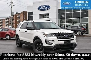 2016 Ford Explorer SPORT 4WD - LEATHER - BLUETOOTH - CLASS III T