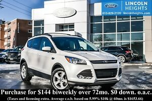 2015 Ford Escape SE  - BLUETOOTH - POWER LIFTGATE - CLASS II TRA