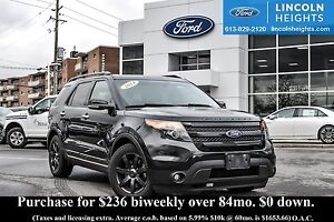 2014 Ford Explorer SPORT 4WD - LEATHER - BLUETOOTH - DUAL PANEL