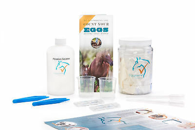 Eggzamin Fecal Worm Egg Count Kit  Mcmaster Method  Step By Step Instructions