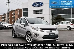2011 Ford Fiesta SES HATCHBACK - LEATHER - BLUETOOTH - PWR MOONR