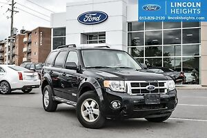 2008 Ford Escape XLT 4WD V6 - LEATHER - POWER MOONROOF