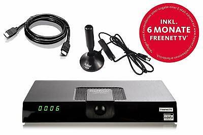 Xoro HRT 8720 KIT DVB-T2 Receiver  ✔ HDTV, 6 Monate gratis freenet TV, PVR, HDMI