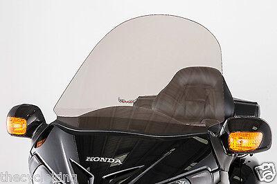 """33"""" TALL Smoke Tinted Windshield/Windscreen-Honda GL1800 Gold Wing 1800 Goldwing"""