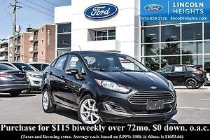 2014 Ford Fiesta SE SEDAN - BLUETOOTH - POWER MOONROOF - HEATED