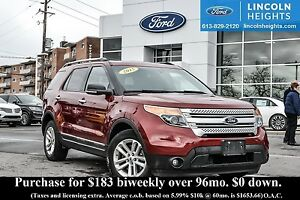 2015 Ford Explorer XLT 4WD - BLUETOOTH - HEATED FRONT SEATS - RE