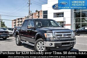 2014 Ford F-150 XLT SUPERCREW 5.5' BED 4WD - XTR PACKAGE - BLUET