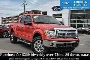 2014 Ford F-150 XLT SUPERCREW 6.5' Bed 4x4 - BLUETOOTH - TAILGAT