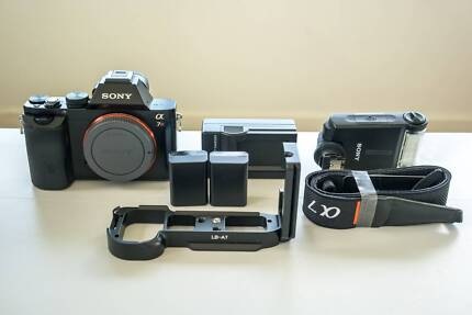 Sony Alpha a7R, External Flash, 2 Batteries, Charger + More