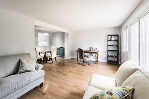 Newly Renovated 3 Bedroom Garden Home