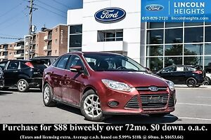 2014 Ford Focus SE SEDAN - BLUETOOTH - HEATED SEATS - POWER MOON
