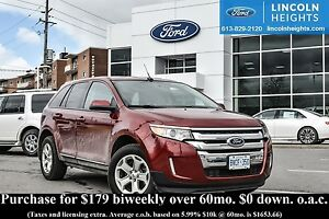 2013 Ford Edge SEL AWD - BLUETOOTH - HEATED FRONT SEATS - REVERS
