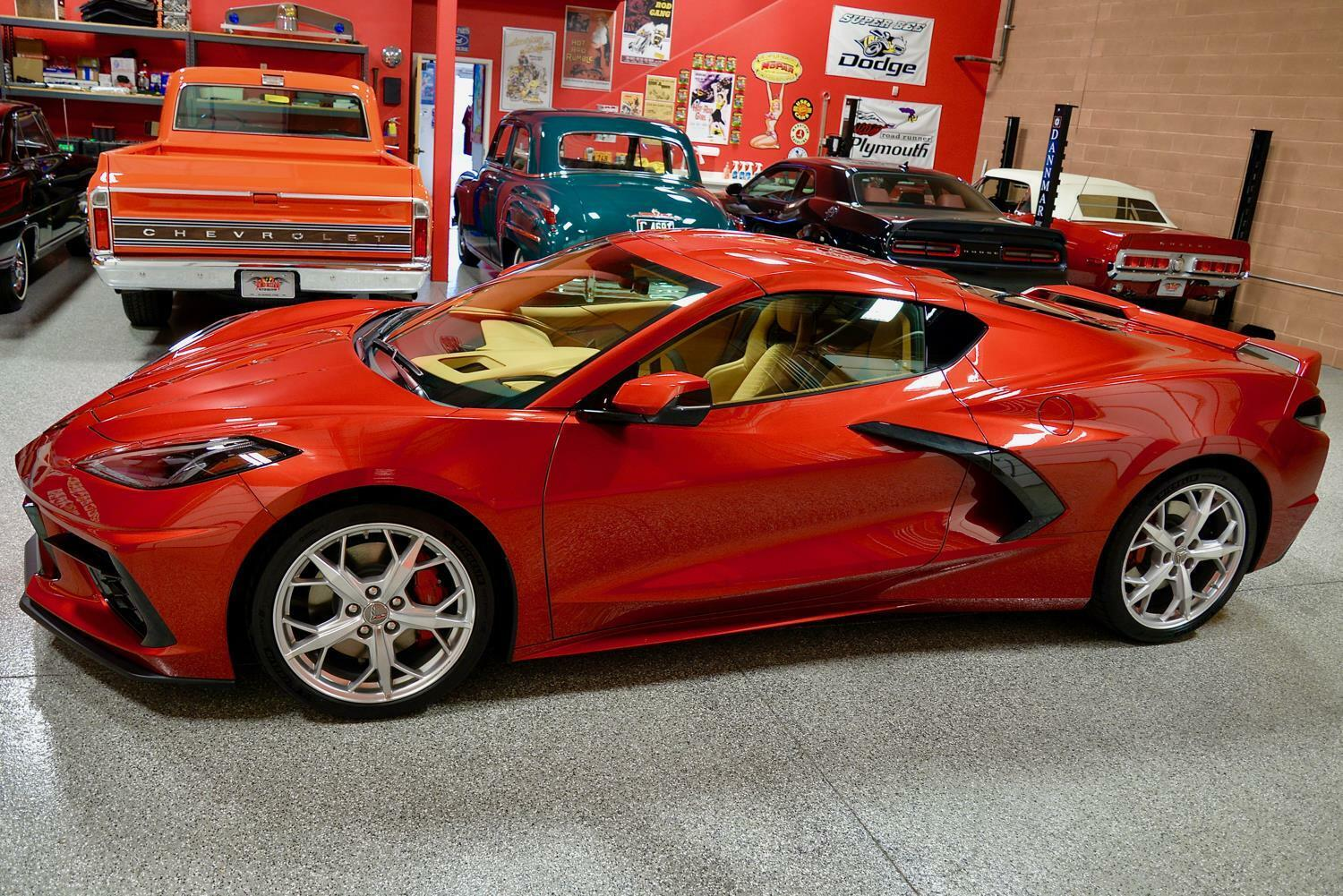 2021 Red Chevrolet Corvette  3LT | C7 Corvette Photo 7