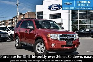 2010 Ford Escape XLT 4WD - BLUETOOTH - LEATHER - HEATED FRONT SE