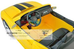 Camaro 12 volt Ride on Toy Special offer $120 Off Read Ad