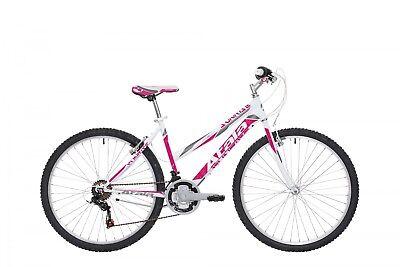 "BICI BICICLETTA Mountain Bike MTB ATALA SUNRISE 26"" 2018 DONNA Lady White Fucsia for sale  Shipping to South Africa"