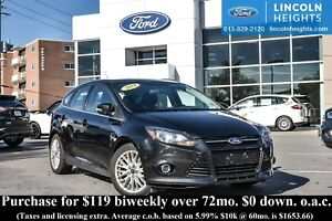 2014 Ford Focus TITANIUM HATCH - BLUETOOTH - NAV