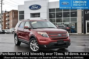 2013 Ford Explorer LTD - BLUETOOTH - LEATHER - MOONROOF - NAV
