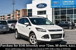 2014 Ford Escape SE FWD - LEATHER - BLUETOOTH - REAR PARKING AID