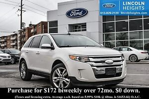 2013 Ford Edge LIMITED AWD - LEATHER - BLUETOOTH - POWER LIFTGAT