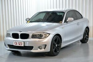 2011 BMW 1 Series E82 LCI MY11 120i Steptronic Silver 6 Speed Sports Automatic Coupe