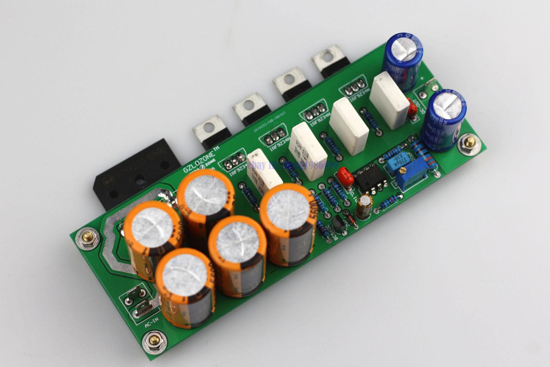 DIY kit  LPS12A Ultra-low noise Linear power supply board kit DC5-DC24V adjust