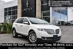 2014 Lincoln MKX AWD - LEATHER - BLUETOOTH - NAV - CLASS II TRAI